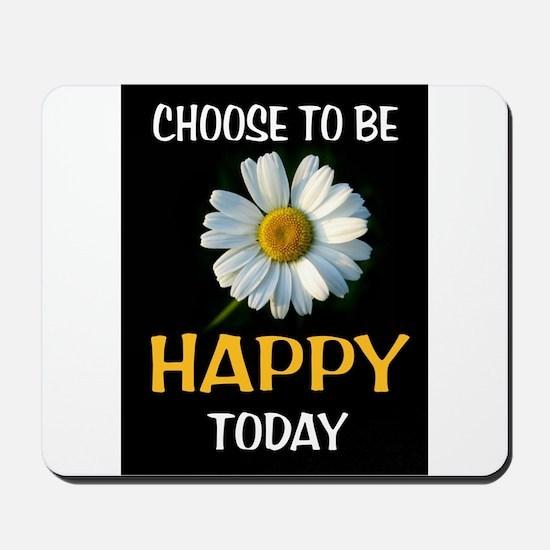 BE HAPPY Mousepad