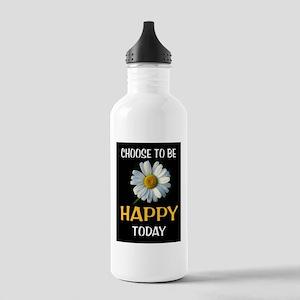 BE HAPPY Water Bottle