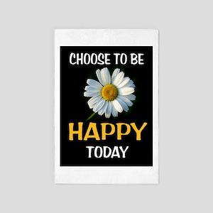 Be Happy 4' X 6' Rug