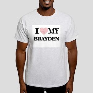 I Love my Brayden (Heart Made from Love my T-Shirt