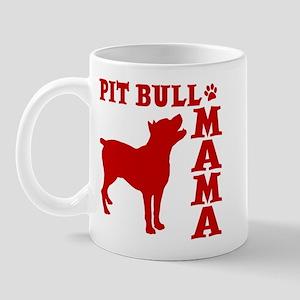 PIT BULL MAMA Mug