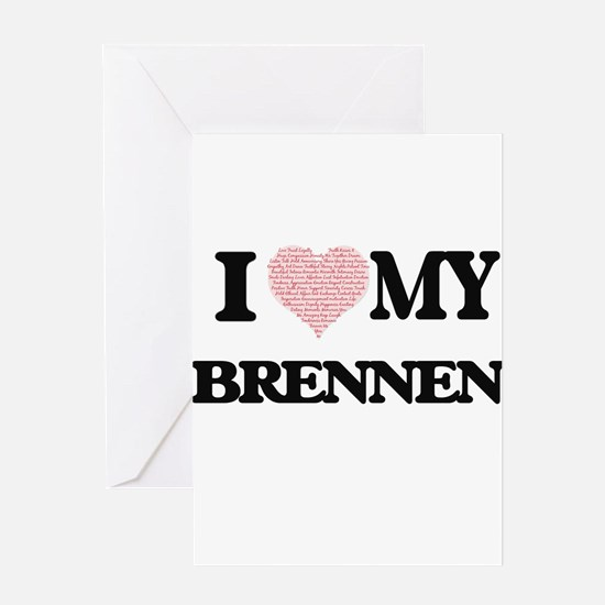 I Love my Brennen (Heart Made from Greeting Cards