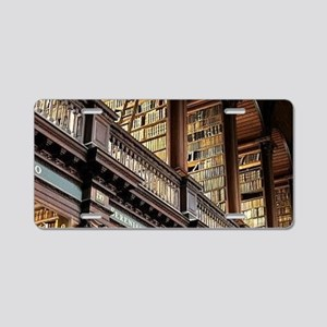 Classic Literary Library Bo Aluminum License Plate