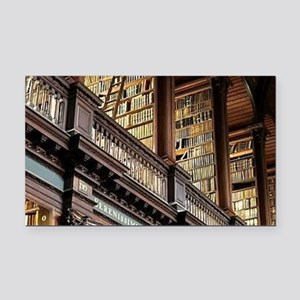 Classic Literary Library Book Rectangle Car Magnet