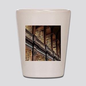Classic Literary Library Books Shot Glass