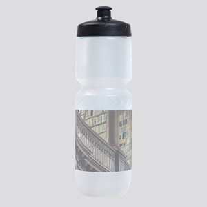 Classic Literary Library Books Sports Bottle