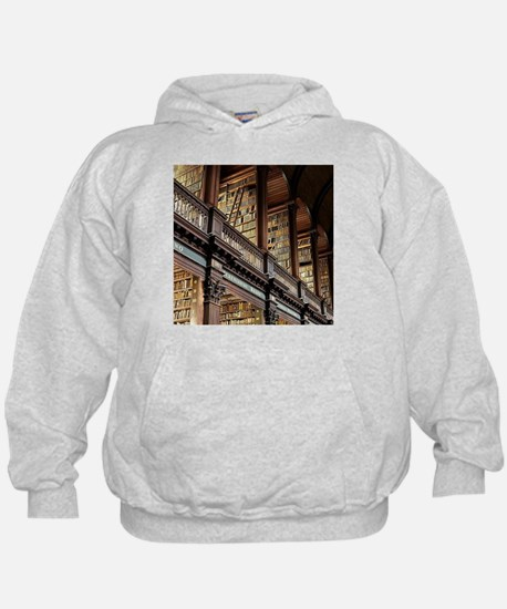 Classic Literary Library Books Hoodie