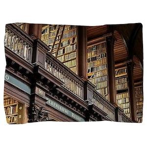 Classic Literary Library Books Pillow Sham