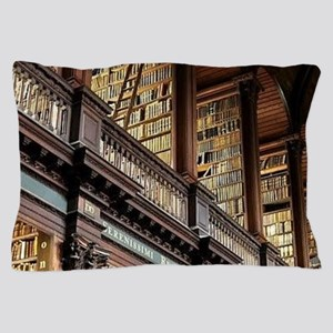 Classic Literary Library Books Pillow Case