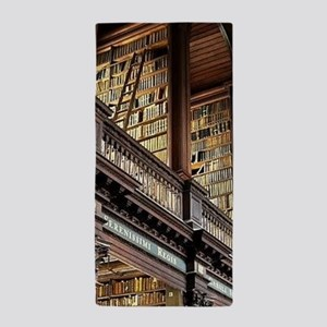 Classic Literary Library Books Beach Towel