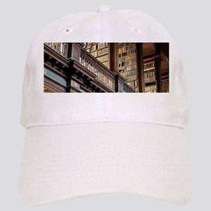 Classic Literary Library Books Cap