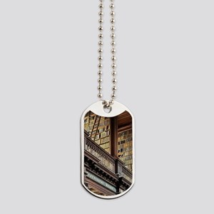 Classic Literary Library Books Dog Tags
