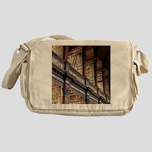 Classic Literary Library Books Messenger Bag