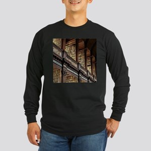 Classic Literary Library Books Long Sleeve T-Shirt