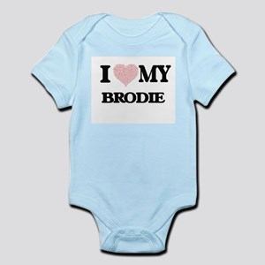 I Love my Brodie (Heart Made from Love m Body Suit