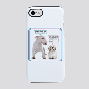 Dog humor iPhone 8/7 Tough Case