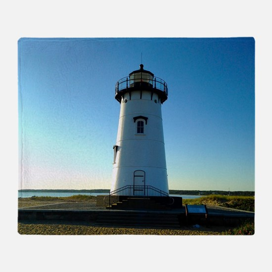 Funny Lighthouses Throw Blanket