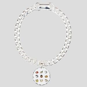 Neko Atsume Charm Bracelet, One Charm