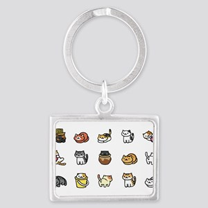 Neko Atsume Keychains