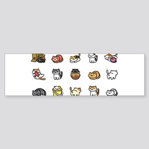 Neko Atsume Bumper Sticker