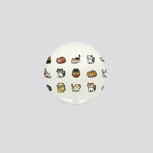 Neko Atsume Mini Button