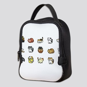 Neko Atsume Neoprene Lunch Bag