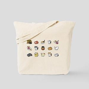 Neko Atsume Tote Bag