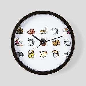 Neko Atsume Wall Clock