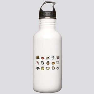 Neko Atsume Sports Water Bottle