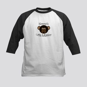 Nonno's BOY Little Monkey Kids Baseball Jersey