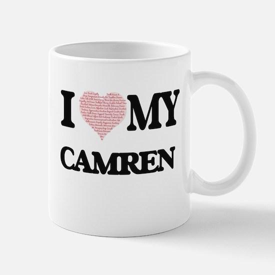 I Love my Camren (Heart Made from Love my wor Mugs