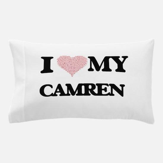 I Love my Camren (Heart Made from Love Pillow Case