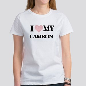 I Love my Camron (Heart Made from Love my T-Shirt