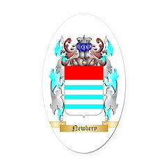 Newbery Oval Car Magnet