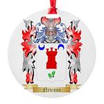 Nevison Round Ornament
