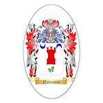 Nevinson Sticker (Oval 50 pk)