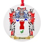 Nevins Round Ornament