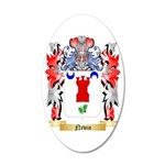 Nevin 35x21 Oval Wall Decal