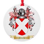 Neville Round Ornament
