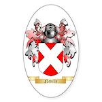 Neville Sticker (Oval 50 pk)