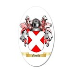 Neville 35x21 Oval Wall Decal