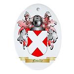 Neville Oval Ornament