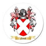 Nevill Round Car Magnet