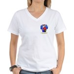 Neves Women's V-Neck T-Shirt