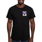 Nevares Men's Fitted T-Shirt (dark)