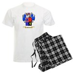 Nevares Men's Light Pajamas