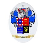 Nevares Oval Ornament