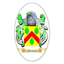 Nettles Sticker (Oval)