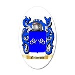 Nethergate 35x21 Oval Wall Decal