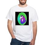 Unicorn Portrait White T-Shirt